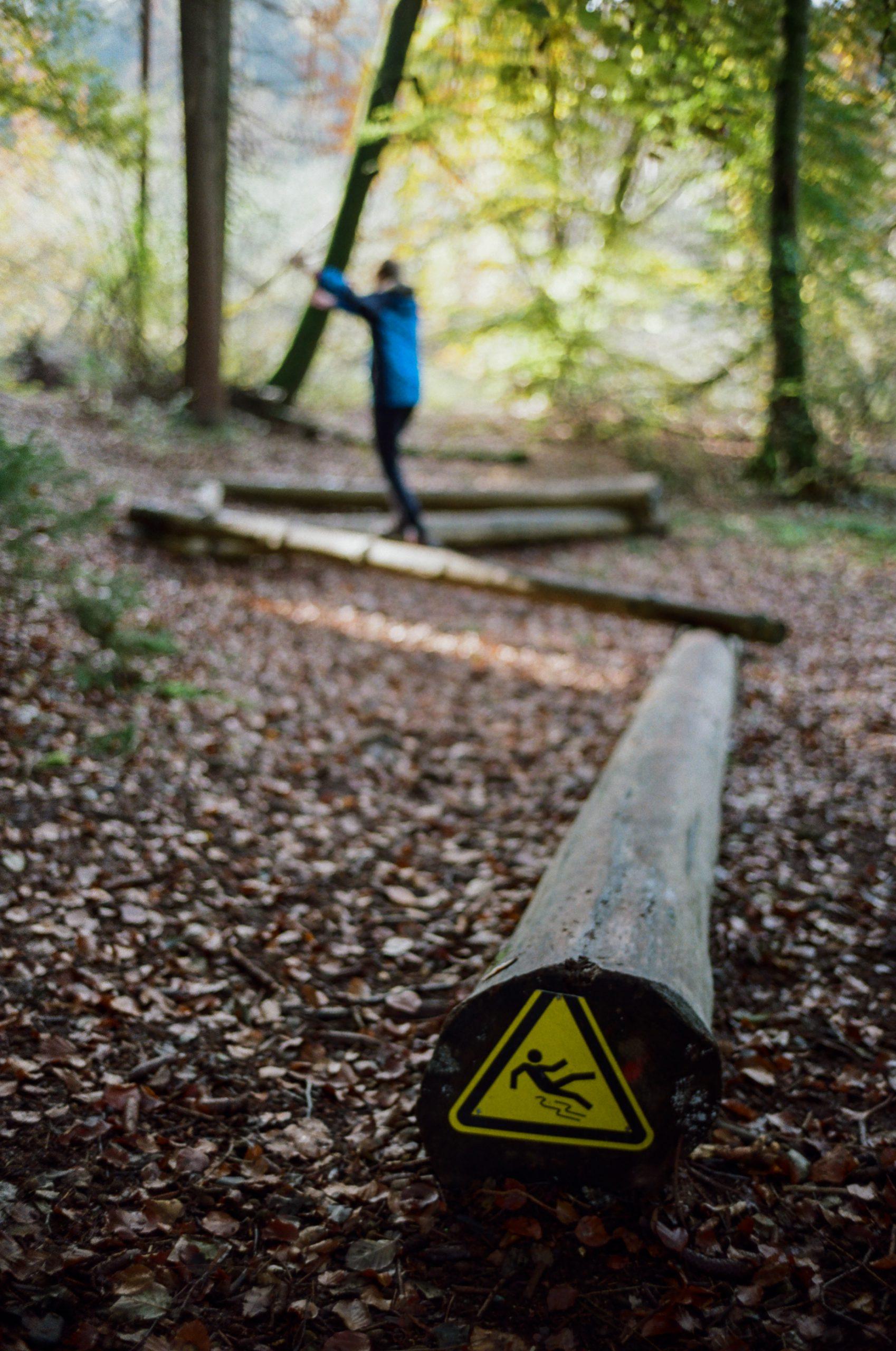 Take care. In einem der Wälder bei Konstanz. BessaR4M, Voigtländer Nokton 35/1.4 II MC. Kodak ProImage100.