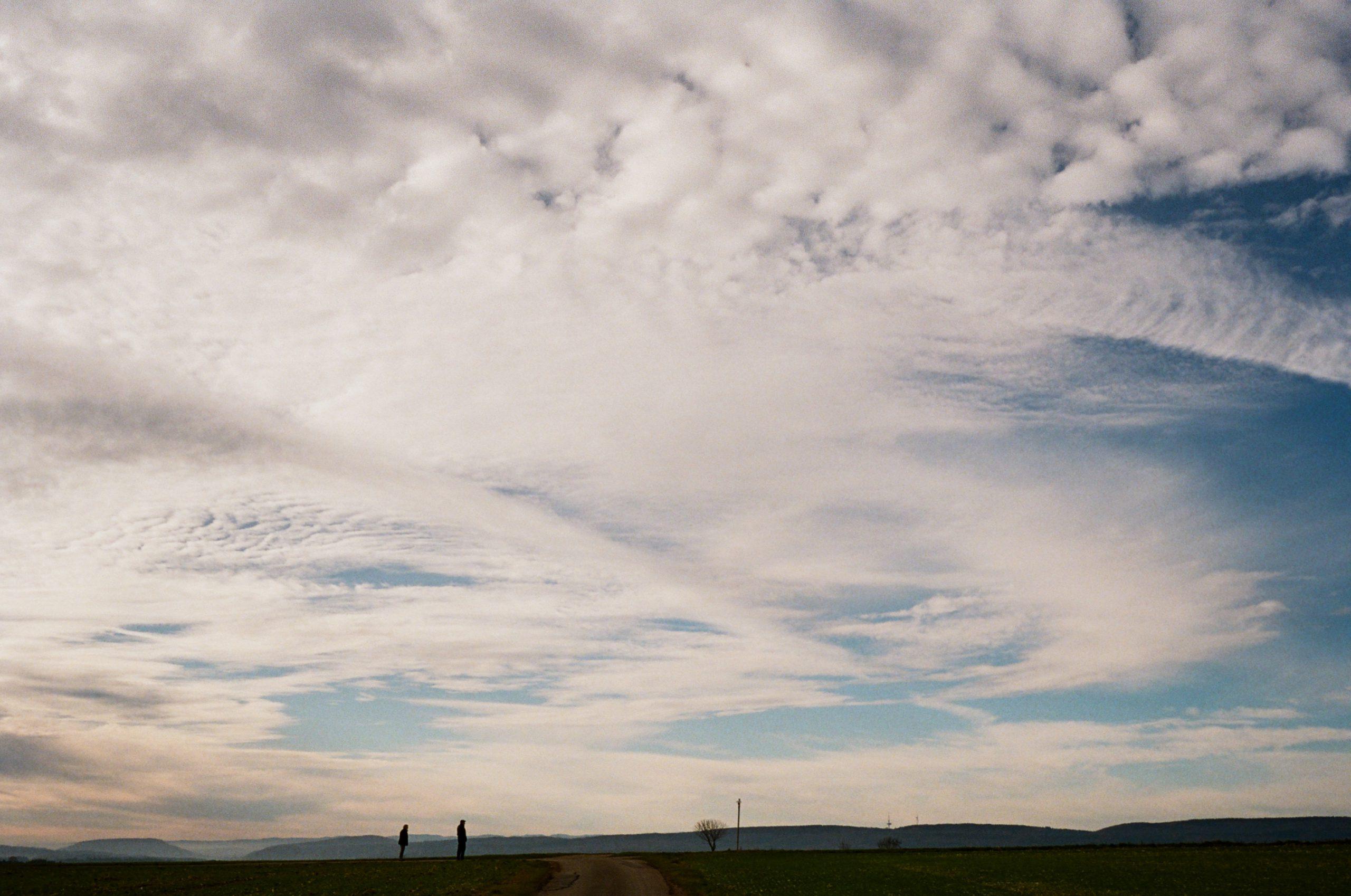 Wolken und Strukturen – das kleine, günstige 35er von Voigtländer zeichnet es schön nach. Voigtländer Color Skopar 35/2.5 an Bessa T. Kodak Ultramax 400.