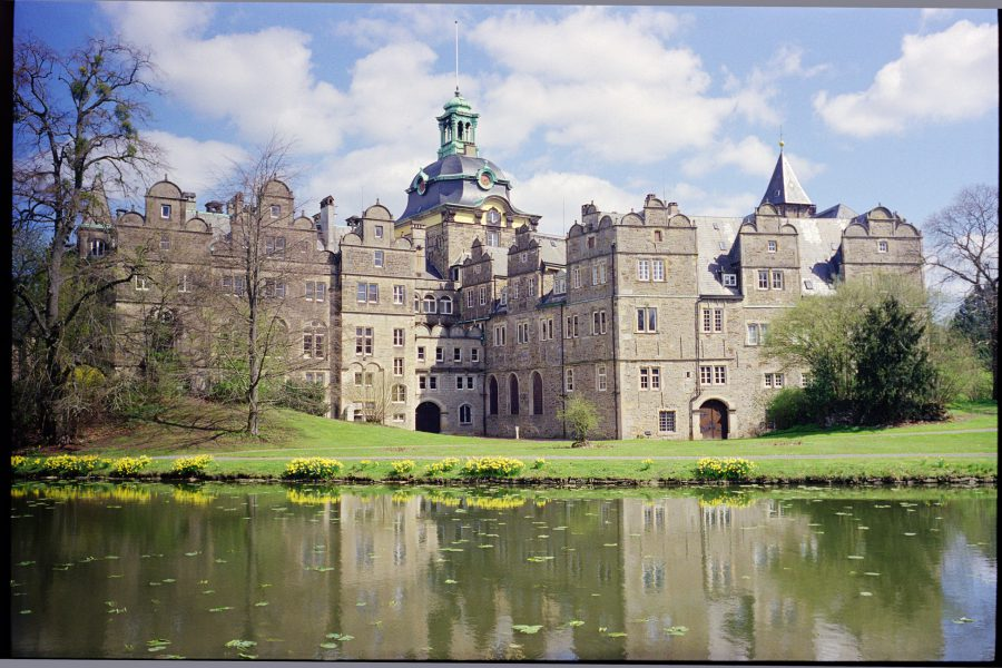 Schloss Bückeburg, Leica IIIf mit 50mm Summitar