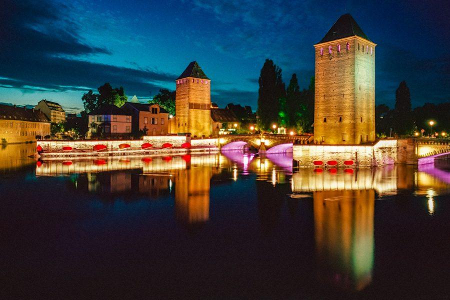 Strassburg, Les Ponts Couverts, Leica M6, Kodak Portra 160